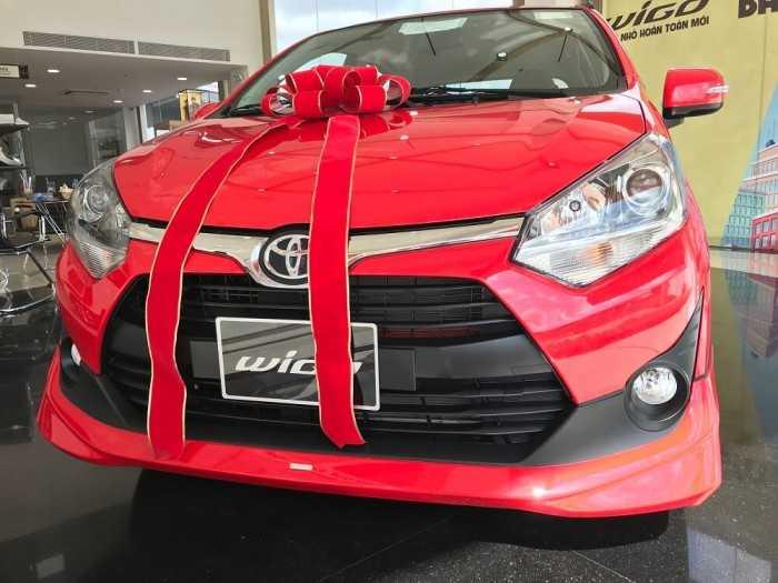 Mua xe Toyota Wigo trả góp tại TPHCM