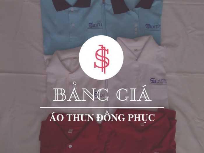 Bảng giá áo thun đồng phục - Từ cộng đồng công ty may áo thun đồng phục giá rẻ TPHCM