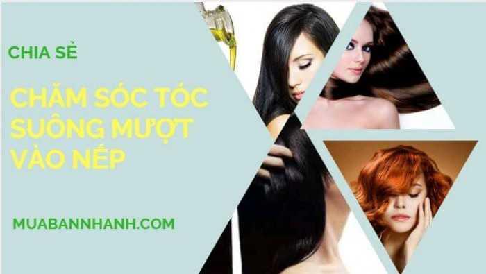 Cách làm tóc mềm mượt nhanh nhất