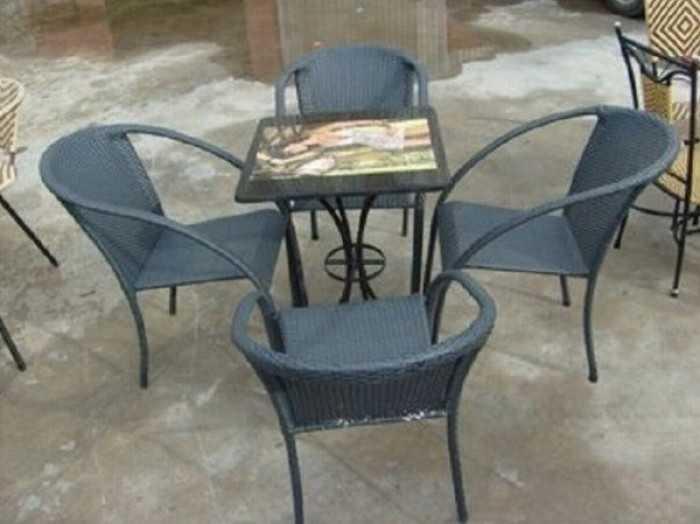 Mua bán bàn ghế cafe ngoài trời