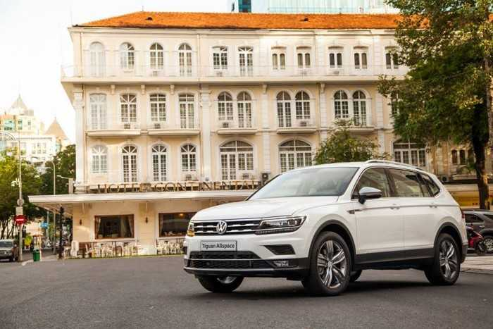 Giá xe Volkswagen Tiguan lăn bánh mới nhất