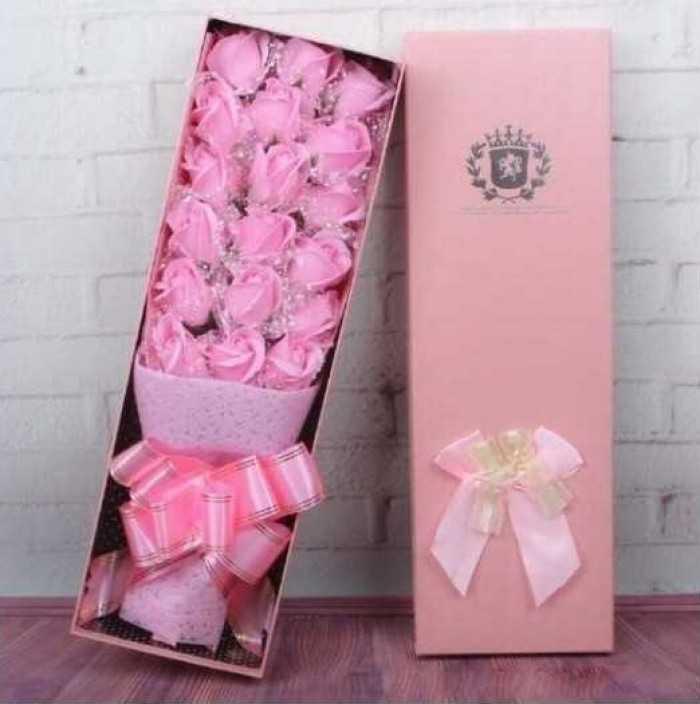 Quà tặng 20/10 ý nghĩa: Hoa hồng sáp thơm