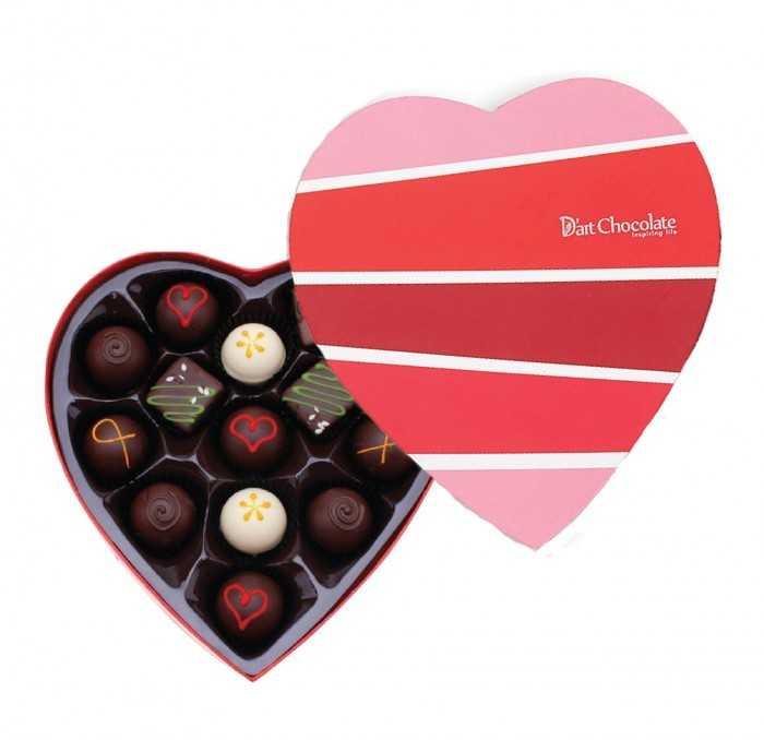 Quà tặng 20/10 ý nghĩa: socola (All you need is love & chocolate)