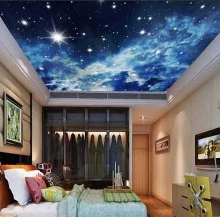 Mẫu trần xuyên sáng phòng ngủ đẹp