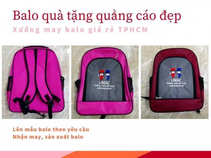 Mẫu balo quà tặng quảng cáo đẹp TPHCM