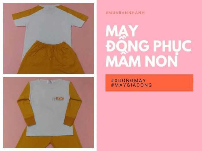 Báo giá may đồng phục mầm non từ cộng đồng xưởng may gia công quần áo trẻ em tại MuaBanNhanh
