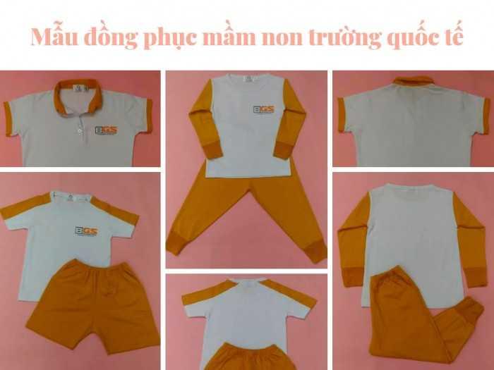 Mẫu đồng phục mầm non trường quốc tế