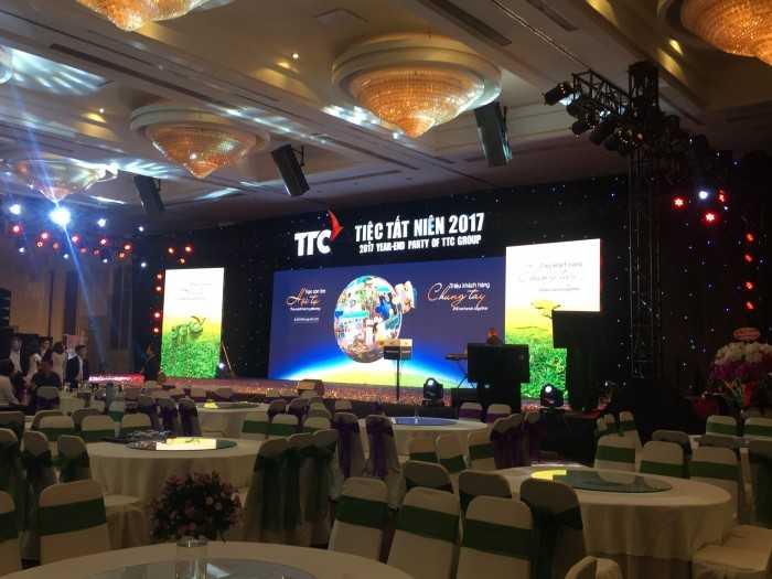 Tiệt tất niên của tập đoàn TTC tại white palace 4