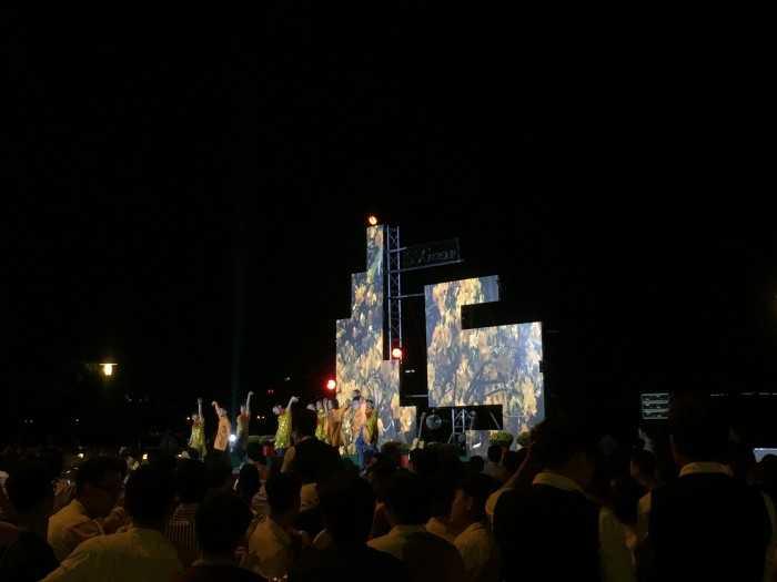Lắp đặt màn hình Led sân khấu cách điệu - Chương trình tất niên SSG Group tại Saigon Pearl