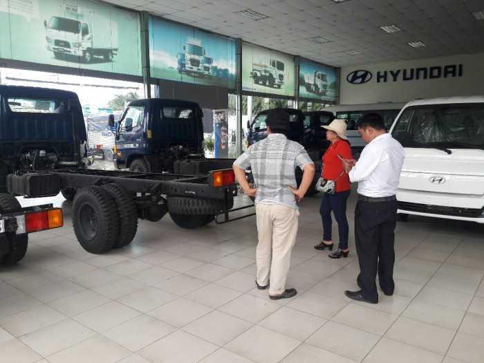 Bảng giá xe tải mới nhất quý 4/2018