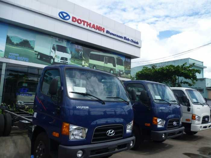 Giá xe tải Hyundai cập nhật mới nhất 2018
