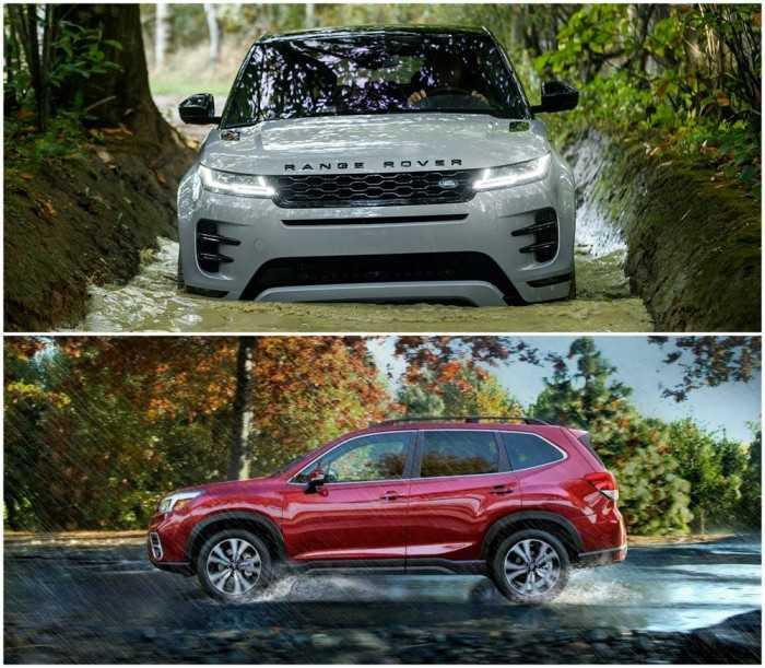 những chiếc SUV có khả năng lội nước trên 500mm đáng mua nhất hiện nay