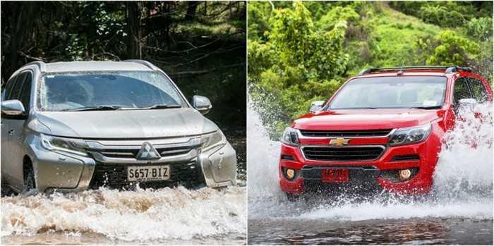 Xe SUV có khả năng lội nước từ 700mm - 800mm