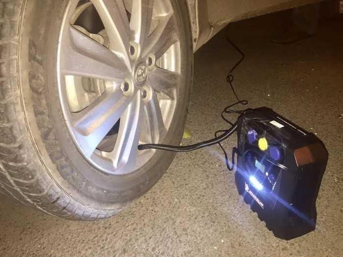 Máy bơm lốp ô tô mini chất lượng