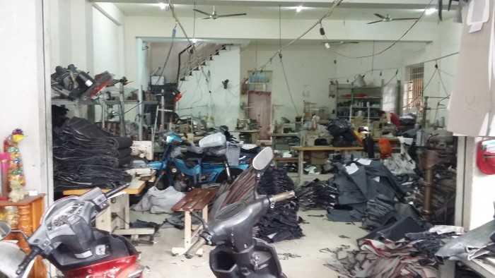 Phân xưởng may gia công quần Jean tại Xuân Lộc, Đồng Nai