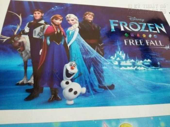 In tranh Elsa, công chúa tuyết