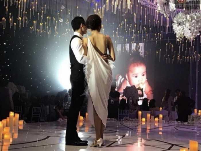 Màn hình Led đám cưới Lan Khuê & Tuấn John tại Gem Center