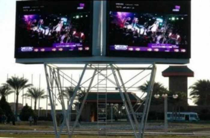 Lắp đặt màn hình Led P18 làm màn hình cỡ lớn ngoài trời