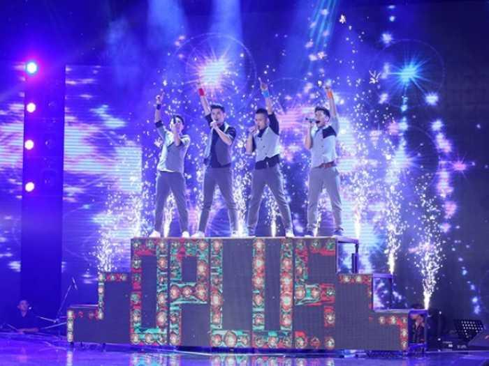 Cho thuê màn hình Led cầu thang chương trình X-Factor