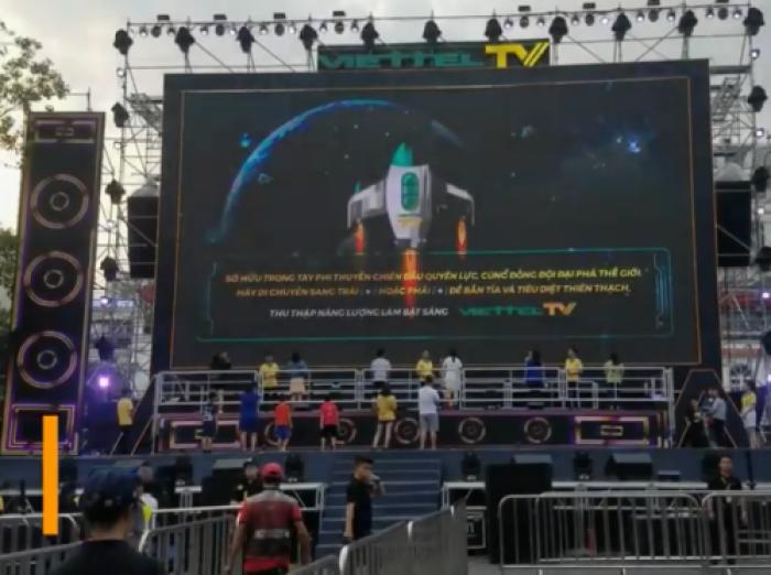 Cho thuê màn hình Led tương tác lớn nhất Việt Nam