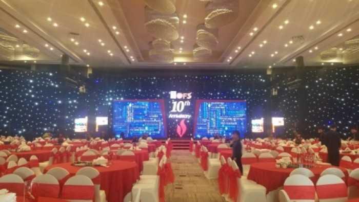 Cho thuê màn hình Led sự kiện kỷ niệm 10 năm thành lập PVTrans tại Pullman Vũng Tàu Hotel