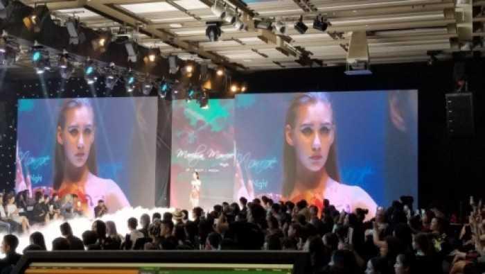 Cho thuê màn hình Led P3 chương trình sự kiện thời trang Gelish tại khách sạn Nikko