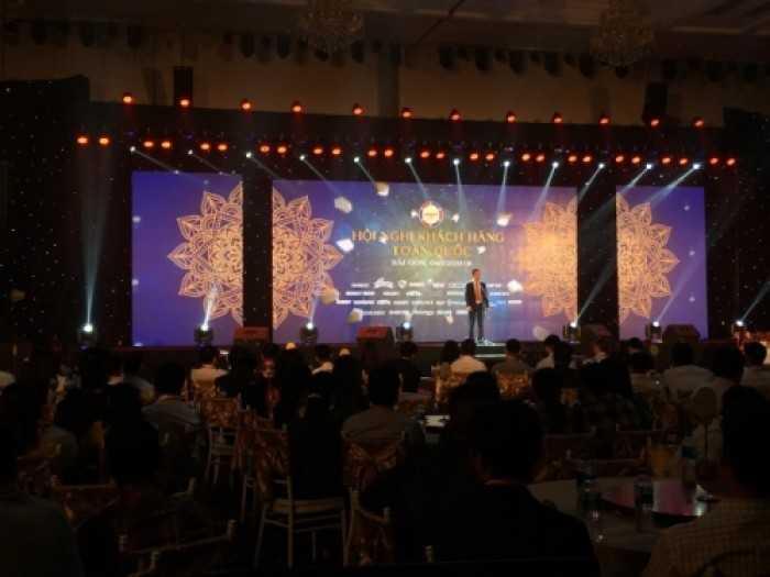 Cho thuê màn hình Led P3 sự kiện hội nghị khách hàng công ty Grobest