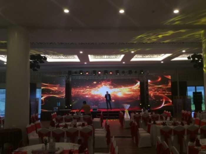 Cho thuê màn hình Led chương trình Gala Dinner Bảo Hiểm Hùng Vương tại Đà Lạt