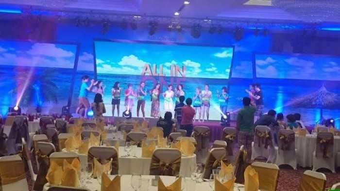 """Cho thuê màn hình led Phú Quốc - Chương trình """"All In One"""" tại Vinpearl Phú Quốc Resort"""