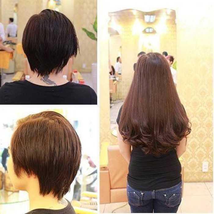 Lưu ý khi nối tóc, Chăm sóc tóc giả