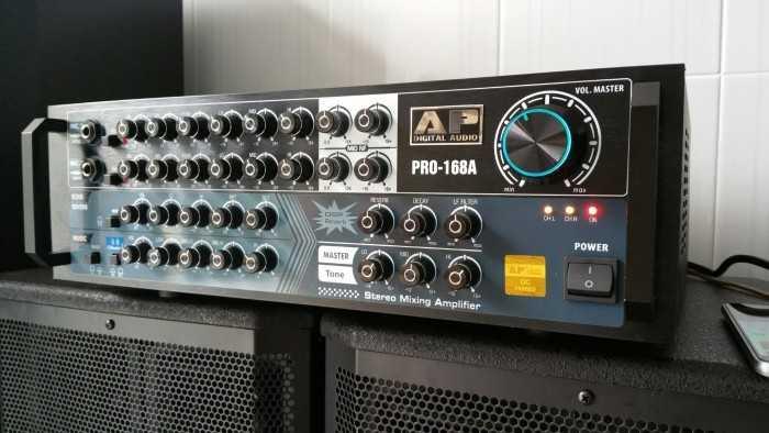 Amply là một trong những bộ phận trong dàn âm thanh, có tác dụng khuếch đại âm thanh cực  tốt