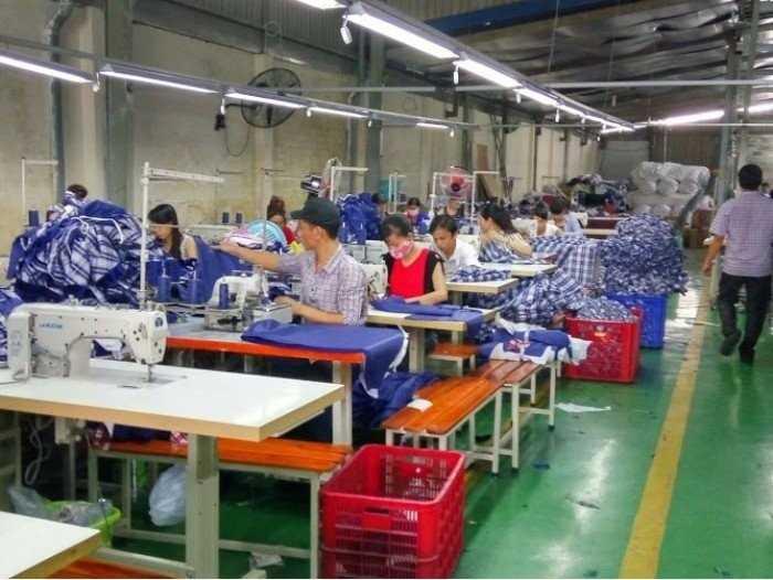Cơ sở xưởng may gia công khẩu trang