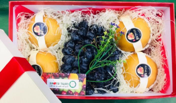 Hộp giấy hình chữ nhật - mẫu hộp đựng trái cây tại MKnow