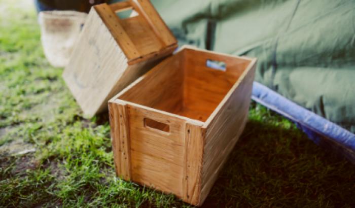 Hộp gỗ đựng trái cây - mẫu hộp đựng trái cây tại MKnow