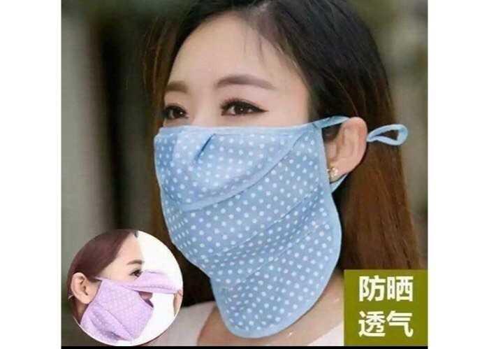 Khẩu trang vải cho bé, chống nắng, Hàn Quốc và chất liệu vải may
