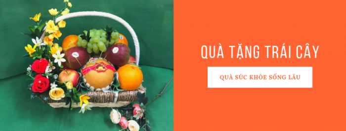 Quà tặng trái cây - Quà tặng sức khỏe và sống lâu