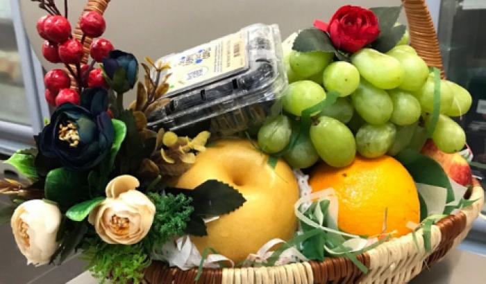 Giỏ trái cây cao cấp làm quà tặng ngoại giao