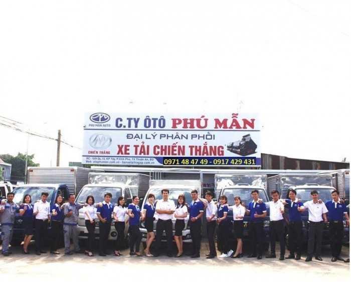 Ô Tô Phú Mẫn đối tác VIP kinh doanh xe tải uy tín tại Xe MuaBanNhanh
