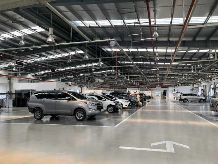 Đại lý 3S Toyota Bình Chánh 100% vốn Nhật Bản