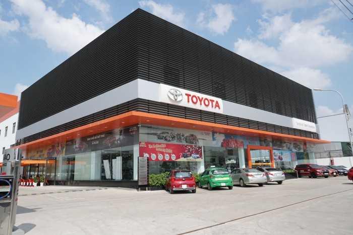 Ngoại thất đại lý Toyota An Thành Fukushima