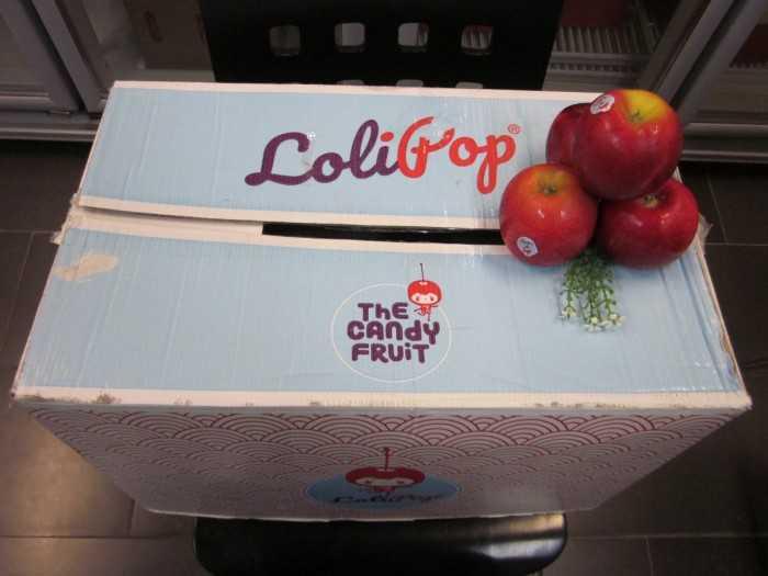 Thùng táo Lollipop