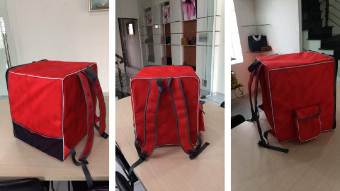Túi giữ nhiệt giao hàng dạng đeo vai