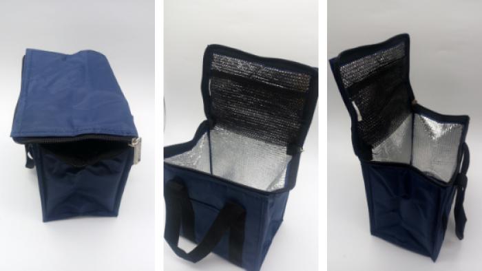 Túi giữ nhiệt giao hàng dạng để trước yên xe