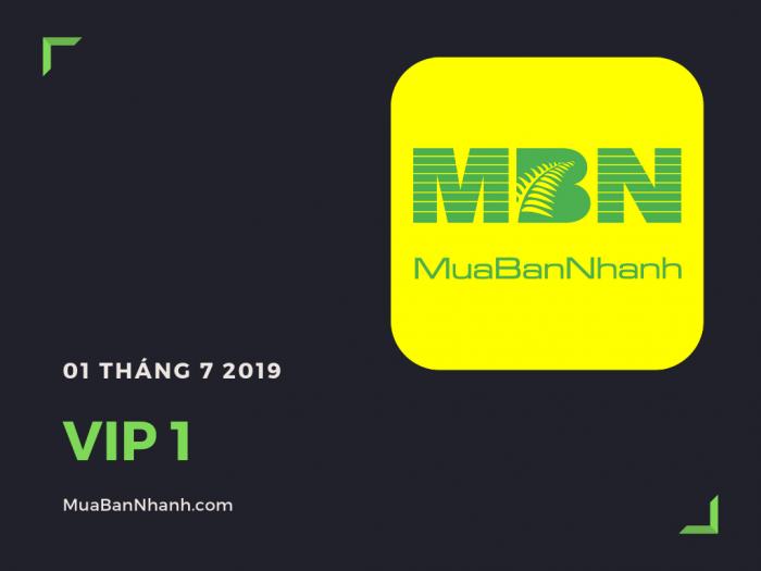 Dịch vụ thành viên VIP 1 MuaBanNhanh 2019