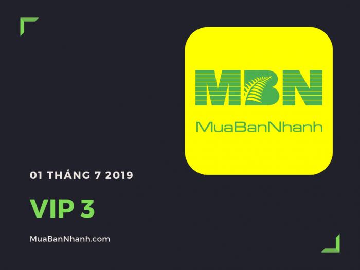 Dịch vụ thành viên VIP 3 MuaBanNhanh 2019