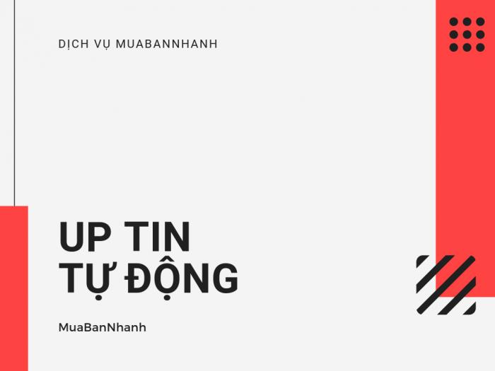 Dịch vụ up tin tự động MuaBanNhanh