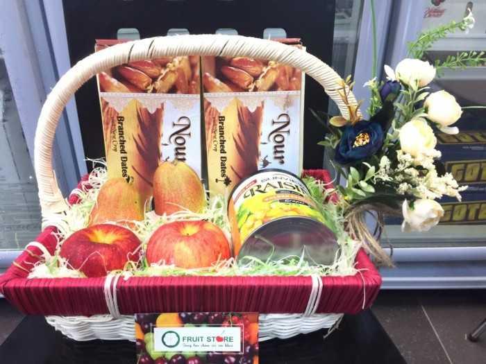 Giỏ trái cây ý nghĩa cho ngày Phật Đản - MuaBanNhanh