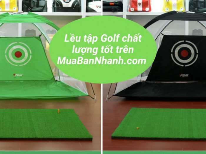 Bộ thảm Swing, lưới lều tập Golf, khung lưới tập Golf kích thước 3mx3mx3m, khung lều tập Golf tại gia chất lượng tốt trên MuaBanNhanh