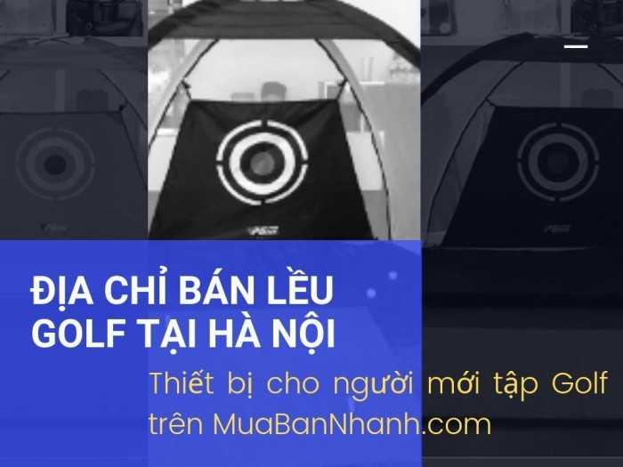 Thiết bị cho người mới tập Golf, bộ khung lưới tập Golf tại nhà, lều Golf di động, lều tập Swing Golf, địa chỉ bán lều Golf Hà Nội