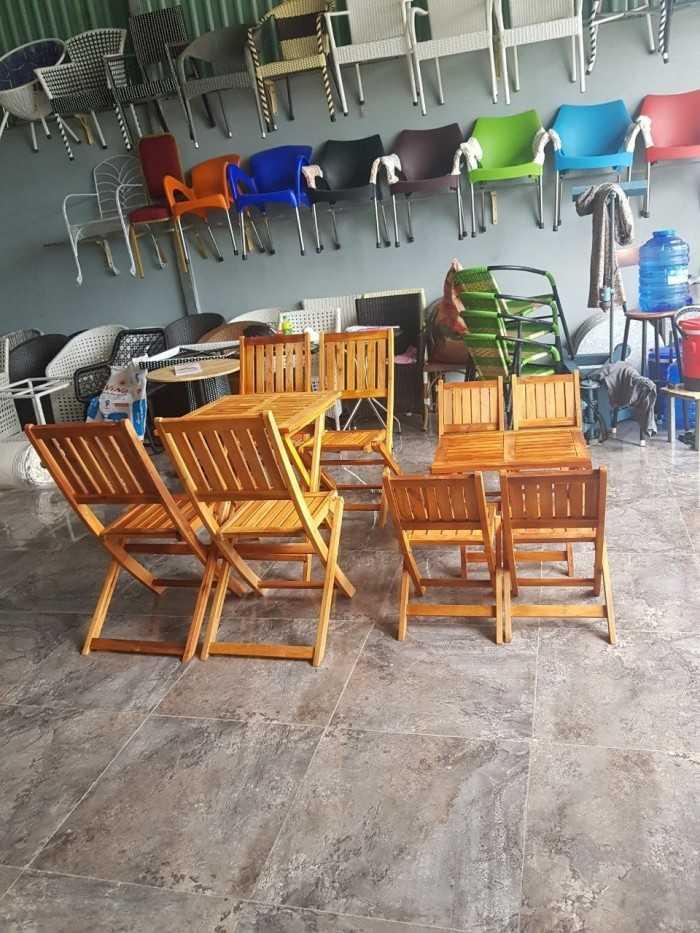 nguồn Bàn Ghế Cafe Mây Nhựa Ô Dù Cafe Ghế Nhà Hàng Khách Sạn